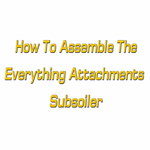 How To Assemble Subsoiler